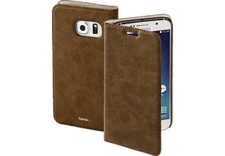 HAMA Guard Case, Bookcover, Galaxy S6, Kunstleder, Braun