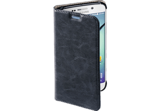 HAMA Guard Case, Samsung, Bookcover, Galaxy S6 Edge, Kunstleder, Blau