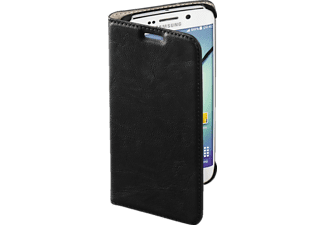 HAMA Guard Case, Bookcover, Galaxy S6 Edge, Kunstleder, Schwarz