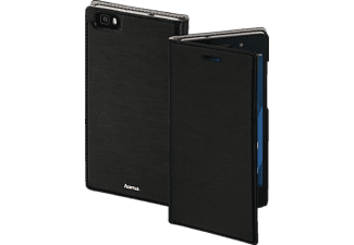 HAMA Slim Bookcover, Huawei, P8 Lite, High-Tech-PU, Schwarz