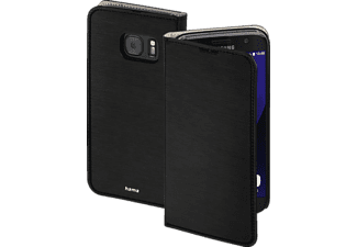 HAMA Slim, Bookcover, Galaxy S7, High-Tech-Polyurethan (PU), Schwarz