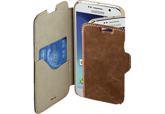 HAMA Prime Line, Bookcover, Samsung, Galaxy S6, Leder (Obermaterial), Country-Braun