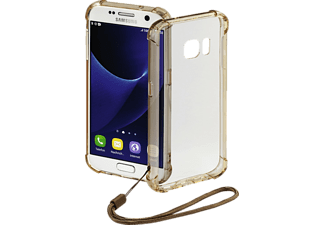 HAMA Anti Shock, Samsung, Galaxy S7, Polycarbonat (PC)/Thermoplastisches Polyurethan (TPU), Bronze