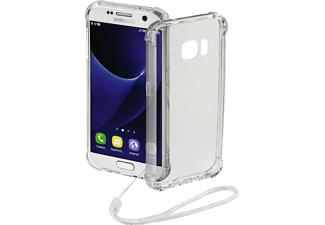 HAMA Anti Shock, Backcover, Galaxy S7, Polycarbonat (PC)/Thermoplastisches Polyurethan (TPU), Transparent