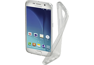 HAMA Clear, Backcover, Samsung, Galaxy S6, Thermoplastisches Polyurethan (TPU), Transparent