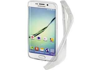 HAMA Crystal, Backcover, Galaxy S6 Edge, Thermoplastisches Polyurethan (TPU), Transparent