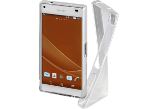 HAMA Crystal Backcover, Sony, Xperia Z5 Compact, Thermoplastisches Polyurethan, Transparent