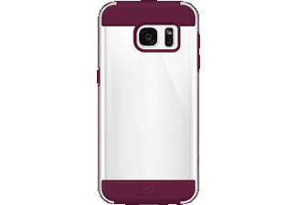 WHITE DIAMONDS Innocence Clear, Backcover, Galaxy S7, French Burgundy