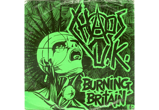 Chaos Uk - Burning Britain [CD]
