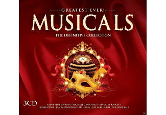 VARIOUS - Musicals-Greatest Ever - (CD)