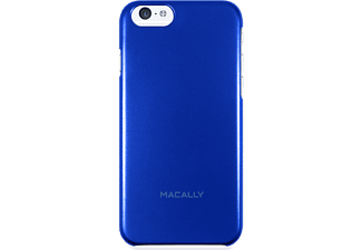 MACALLY Θήκη iPhone 6 4.7 - Blue metallic - (SNAPP6M-BL)