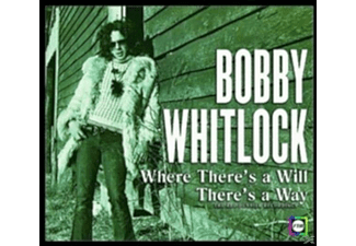 Bobby Whitlock - Where There's A Will There's A Way: - (CD)