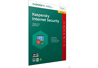 Kaspersky Internet Security 2017 5 Lizenzen Upgrade (Code in a Box) - FFP