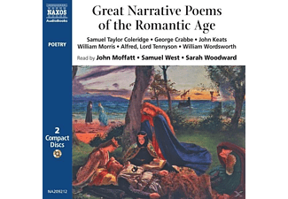 Great Narrative Poems Of The R - 2 CD - Hörbuch