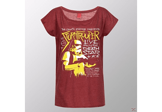 Stormtrooper-Live From Deathstar (Girly Shirt L/Red)