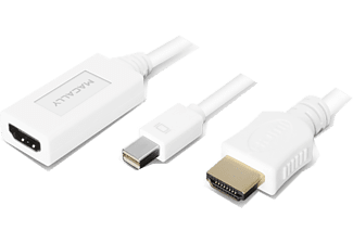 MACALLY Mini DisplayPort to HDMI 4K cable - 6ft/180 cm - (MD-HD6C-4K)