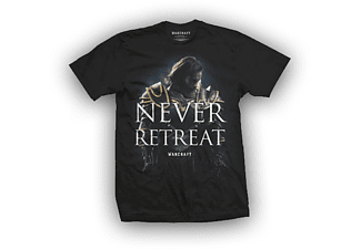 Warcraft - Never Retreat T-Shirt Größe XL