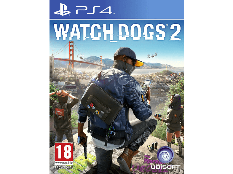 Watch Dogs 2 Standard Edition gaming games ps4 games