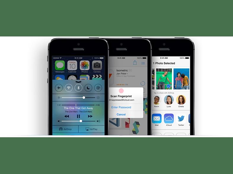 iPhone 5S 16GB szürke kártyafüggetlen okostelefon (me432lp/a)