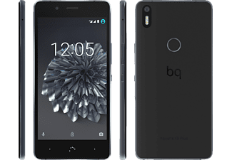 BQ Aquaris X5 Plus 16 GB Schwarz/Anthrazit Dual SIM