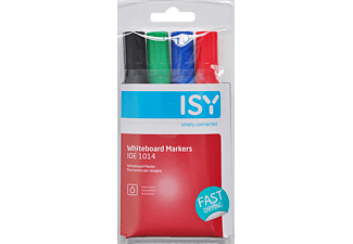 ISY IOE-1014 Whiteboard Marker in 4 Farben