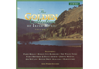 VARIOUS - Irish Music Golden Collection - (CD)