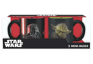 Star Wars Mini-Tassenset - Darth Vader und Yoda