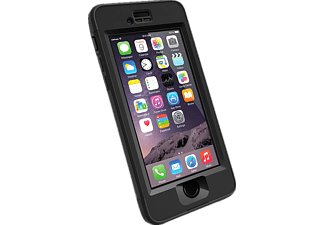 LIFEPROOF NÜÜD Special Edition, Full Cover, Apple, iPhone 6s, Polycarbonat/Transparentes Polymer/Synthesekautschuk/Silikon, Schwarz