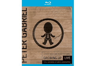 Peter Gabriel - Still Growing Up:Live & Unwrapped - (Blu-ray + DVD)