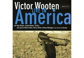 Victor Wooten - LIVE IN AMERICA - (CD)