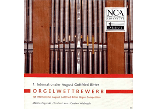 Torsten Laux, Marina Zagorski, Wiebusch Carsten - 1. Internationaler August Gottfried Ritter Orgelwettbewerb - (CD)