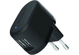 CYGNETT Flow Charger 5V 2.4A Dual USB Wall charger (Χωρίς καλώδιο) EU plug - (CY1606POFLO)