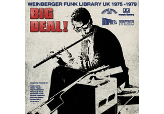 VARIOUS - Big Deal! (Weinberger Funk Library UK 1975-79) - (CD)