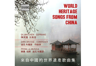 Qilian Chen - World Heritage Songs From China [CD]