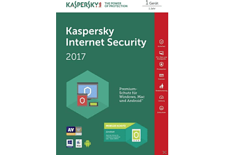 Kaspersky Internet Security 2017 + Android Sec. (Code in a Box)
