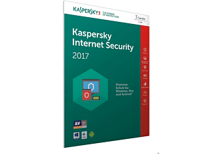 Kaspersky Internet Security 2017 3 Lizenzen (Code in a Box) - FFP