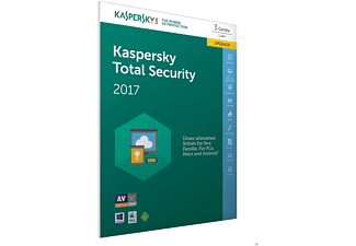 Kaspersky Total Security Multi-Device 2017 3 Lizenzen Upgrade (Code in a Box) - FFP
