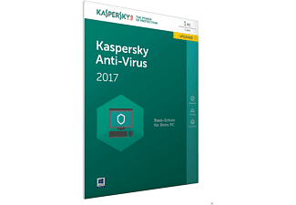 Kaspersky Anti-Virus 2017 Upgrade (Code in a Box) - FFP