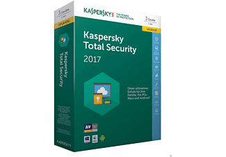Kaspersky Total Security Multi-Device 2017 3 Lizenzen Upgrade (Code in a Box)