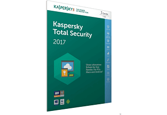 Kaspersky Total Security 2017 3 Lizenzen (Code in a Box)