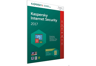 Kaspersky Internet Security 2017 + Android Sec. (Code in a Box) - FFP