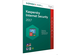 Kaspersky Internet Security 2017 5 Lizenzen (Code in a Box) - FFP