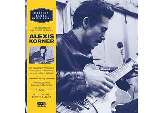 Alexis Korner - British Blues Master Works - (LP + Bonus-CD)