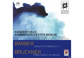 Konzerthaus Kammerorchester Berlin - Adagio For Strings op.11 & String Quintet In F Maj - (SACD Hybrid)