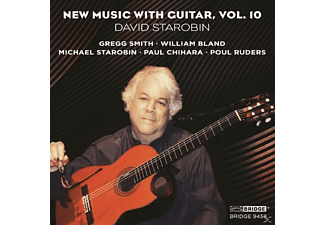 David Starobin - New Music With Guitar Vol.10 [CD]