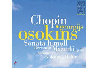 Georgijs Osokins - Sonata b minor & Mazurki op.59 & Berceuse [CD]