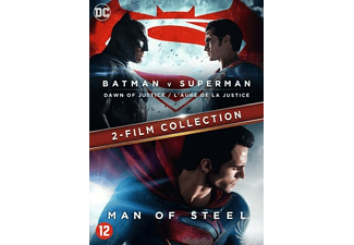 Batman V Superman - Dawn Of Justice + Man Of Steel | DVD