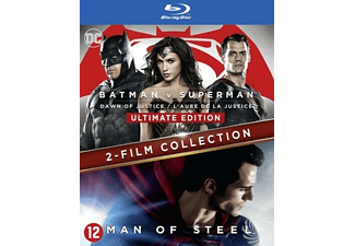Batman V Superman - Dawn Of Justice + Man Of Steel | Blu-ray