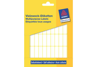 ZWECKFORM 3320 Mini-Organisations-Etiketten  32 x 10 mm  Mini-Organisations-Etiketten (1144 Stk.)