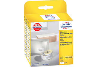 AVERY ZWECKFORM AS0722520 ROLLENETIKETTEN ADRESSIERE 54X25MM 500ST